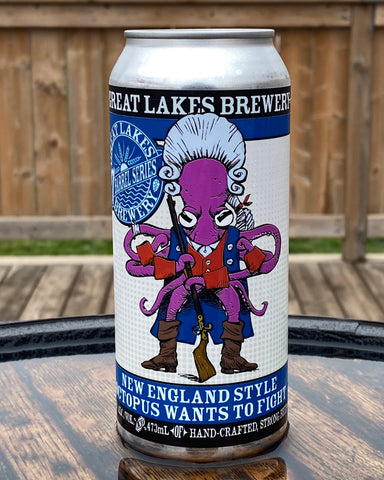 Octopus Wants to Fight - New England IPA