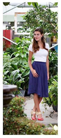Mikarose Cotton Skirt