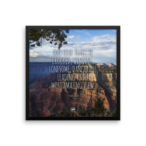Amazing Arizona Grand Canyon View - Framed Poster