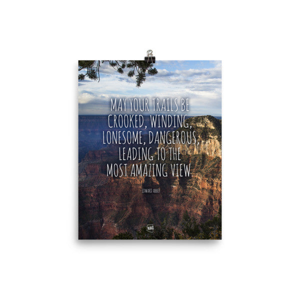 Amazing Arizona Grand Canyon View Unframed Poster