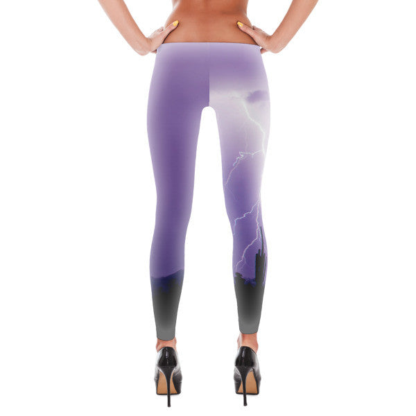 Lightning Bolt Arizona Desert Design Leggings