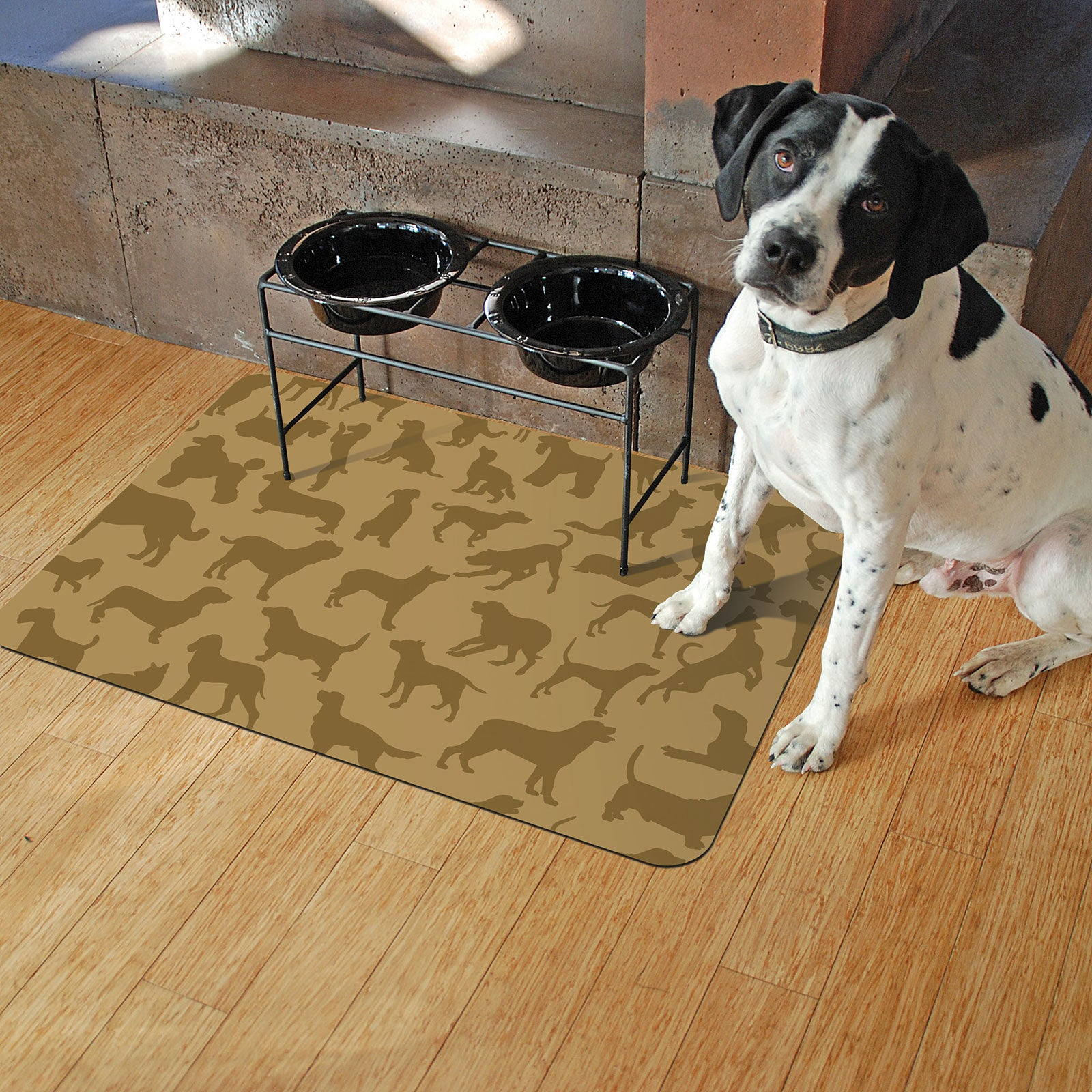 "Dogs at Play 18""x27"" Accent Mats"