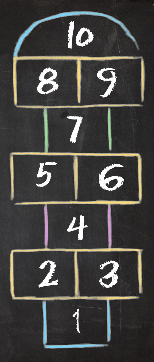 "Wholesale- (2 units) Hopscotch 25""x60"" Accent Runner"