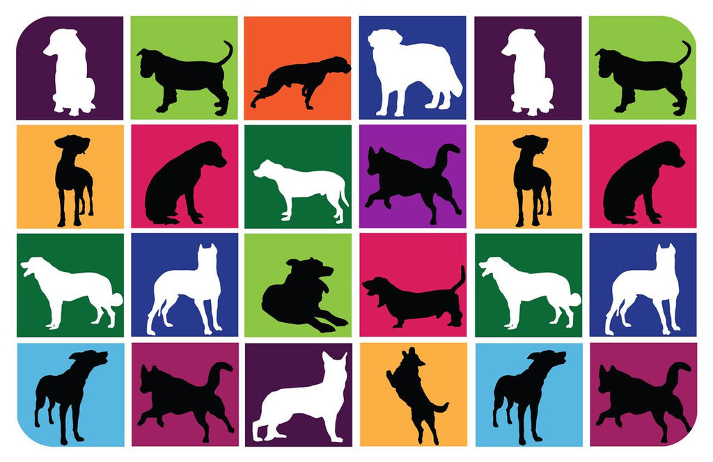 "Wholesale- (2 units) Dog in a Box 23""x36"" Accent Mat"