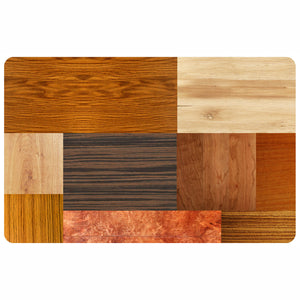 Wholesale- (2 units) Exotic Wood FoFlor Accent Mats