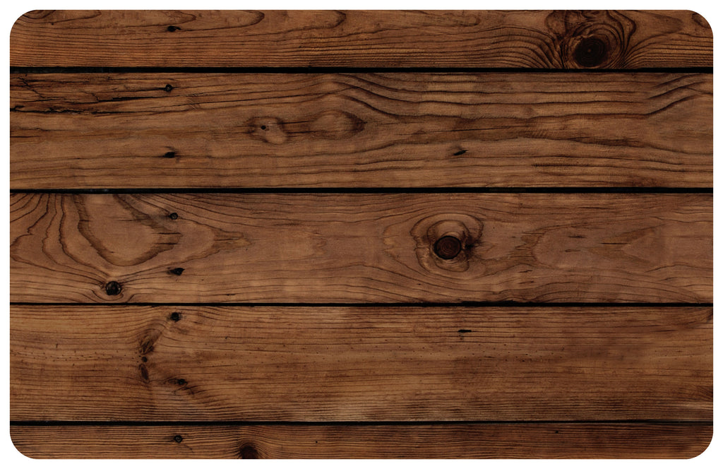 Wholesale- (2 units) Darkwood Plank FoFlor Accent Mats