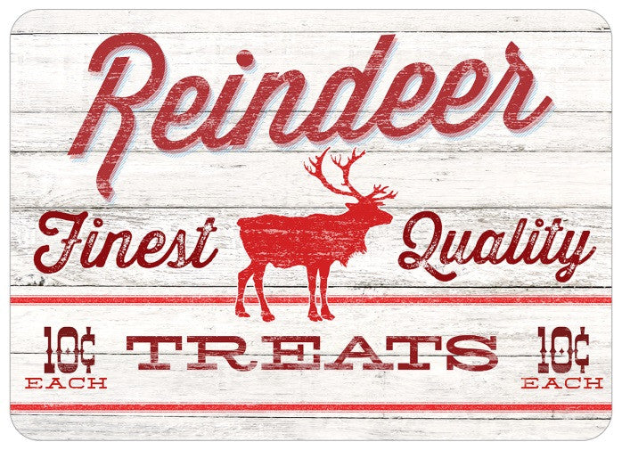 "Wholesale- (2 units) Premium Comfort Reindeer Treats 22""x31"" Mat"