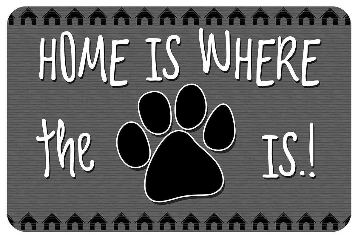 Wholesale (2 Units) Home Paw Accent Mat
