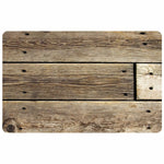 Wholesale- (2 units) Rustic Wood FoFlor Accent Mats