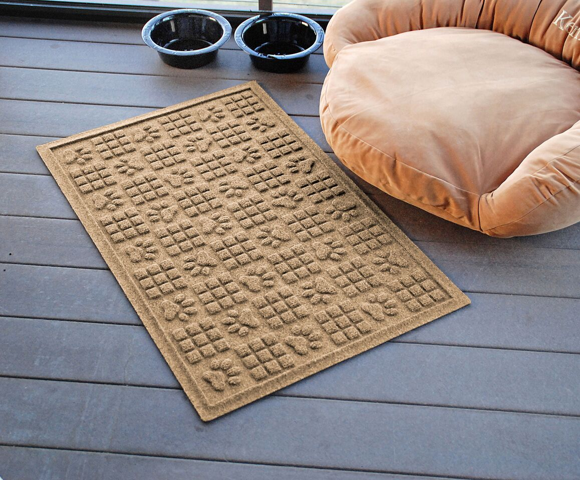 Wholesale - (2 Units) Waterhog Dog Paw Squares Doormat 2'x3'