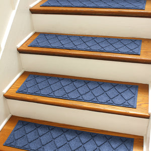2020 WaterHog® Stair Treads - Argyle - Set of 4