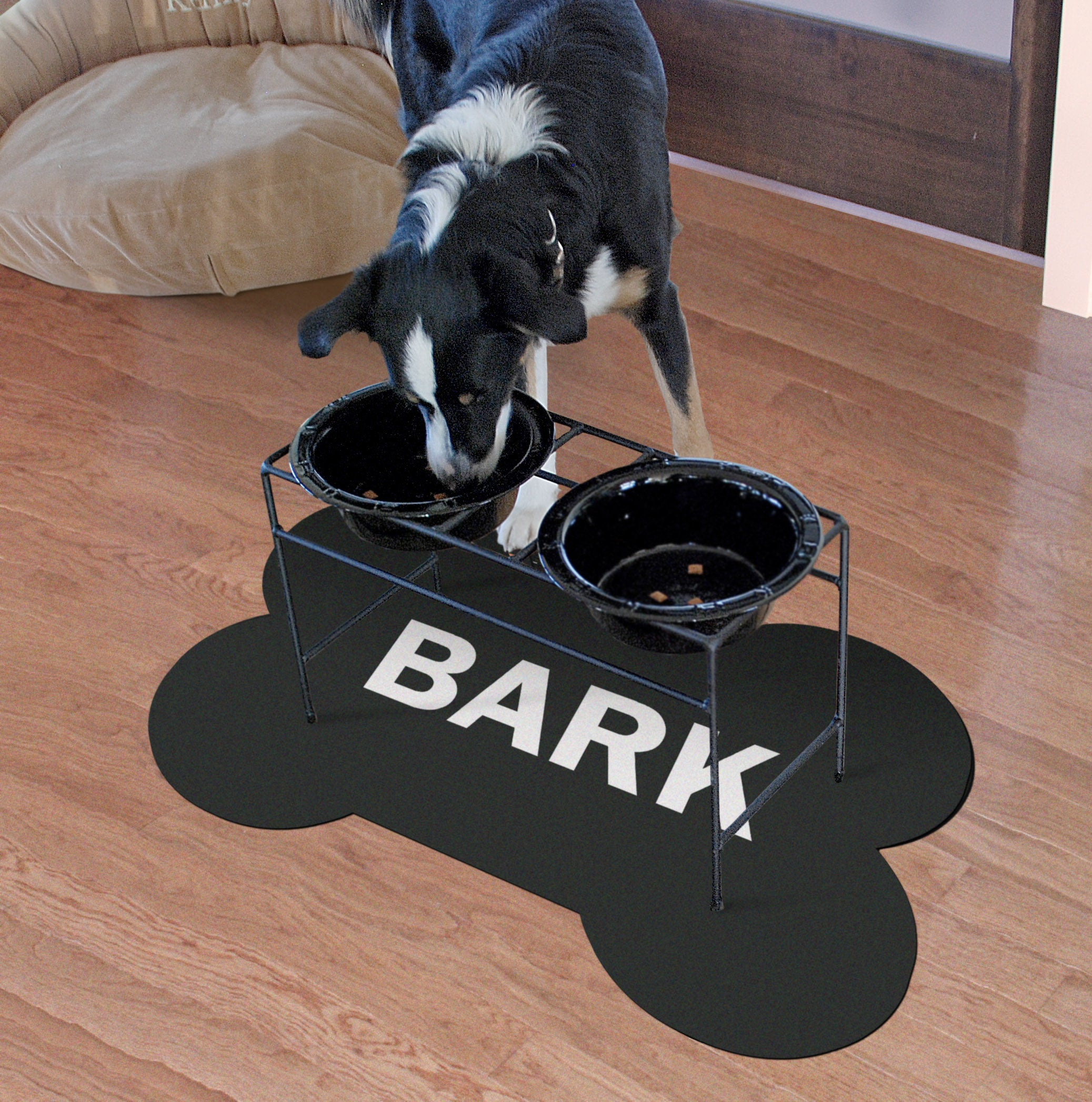Bark Bone Shaped Accent Mats