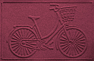 Wholesale- (2 units) Waterhog Nantucket Bicycle Doormat 2'x3'