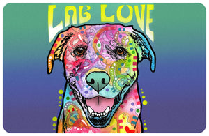 "Lab Love 23""x36"" Accent Mat by Dean Russo"