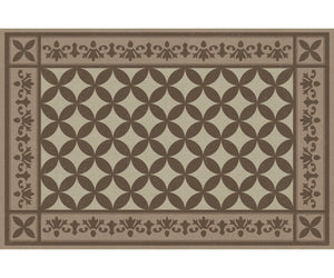 Wholesale (2 Units) FlorArt Lancaster Khaki Accent Mat