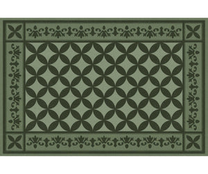 Wholesale (2 Units) FlorArt Lancaster Green Accent Mat