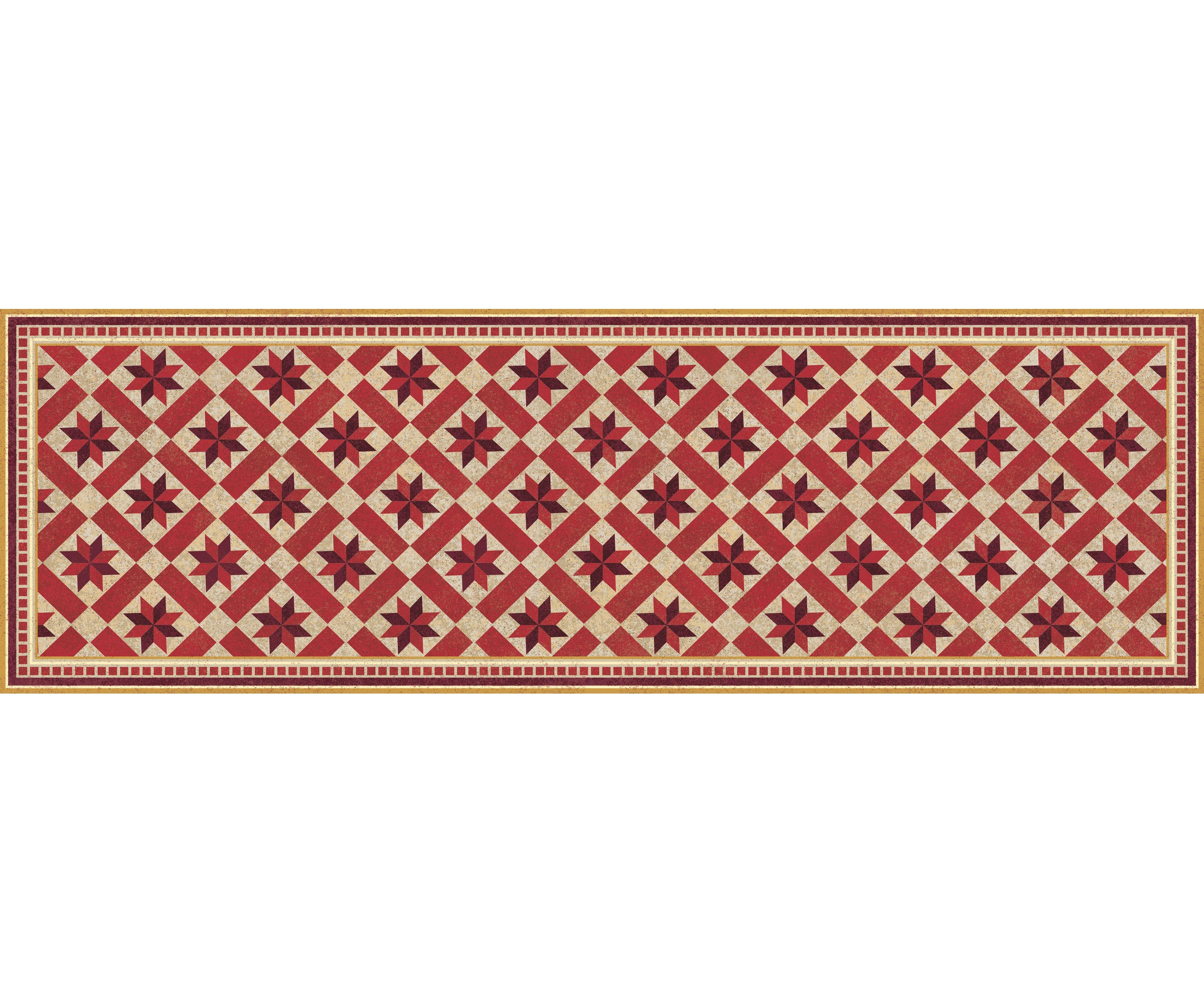 FlorArt York Crimson Accent Mat