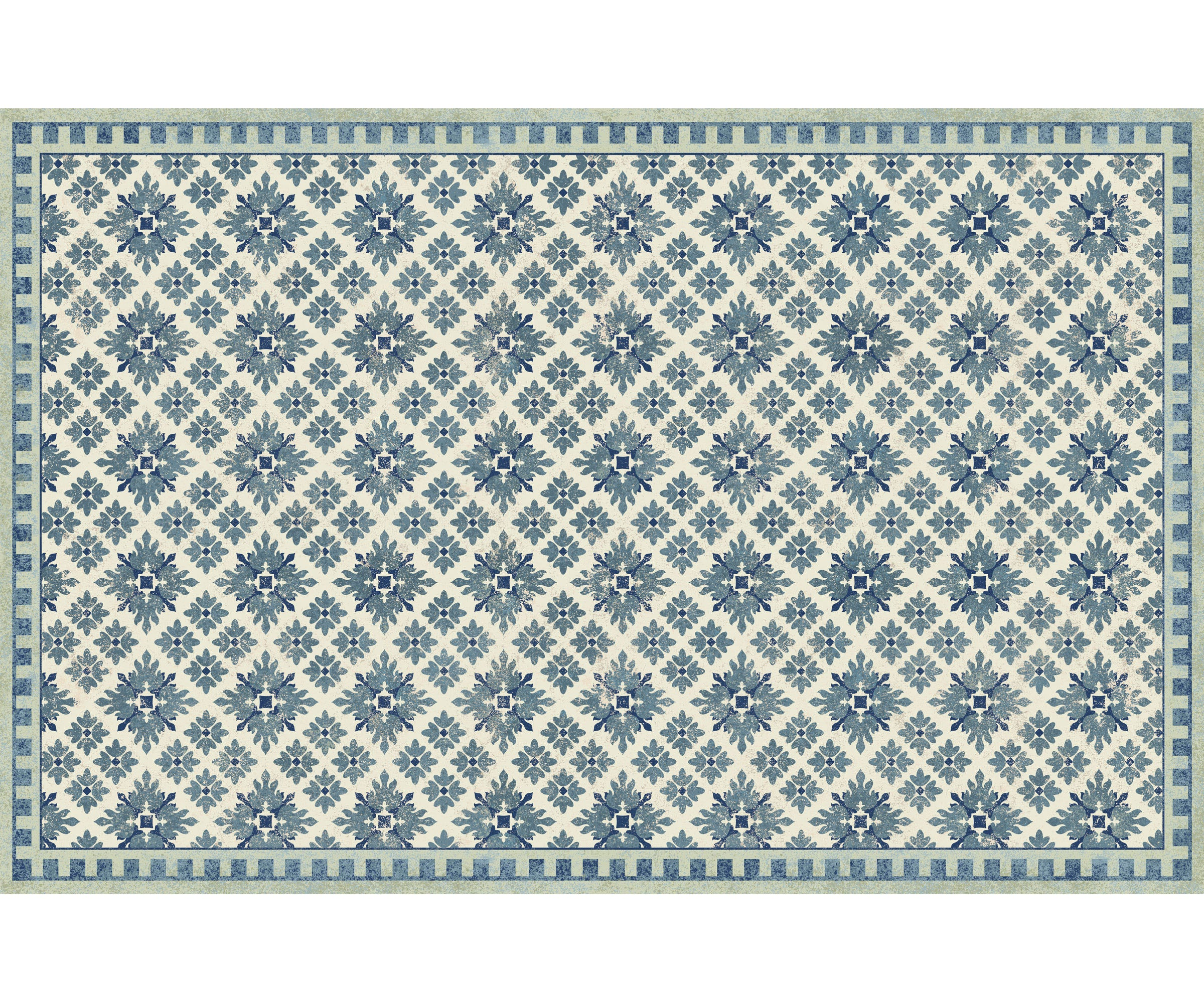 Wholesale (2 Units) FlorArt Kirkwood Blue Accent Mat