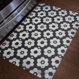 2020 FlorArt Chicago Tile - Low Profile Decorative Floor Mat - Made in USA