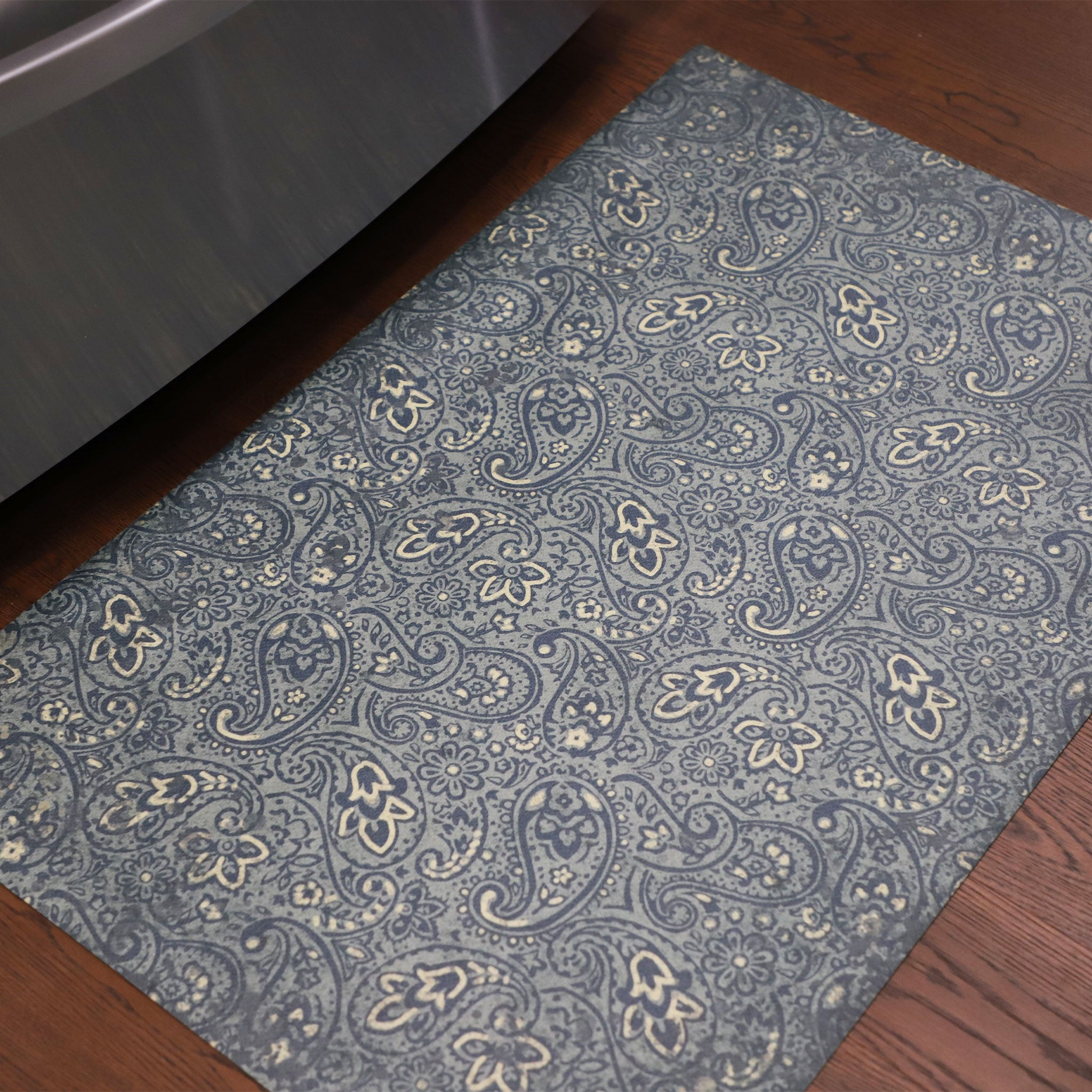 2020 FlorArt Paisley Park - Low Profile Decorative Floor Mat - Made in USA