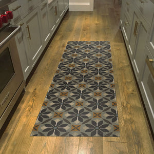 2020 FlorArt Nazareth - Low Profile Decorative Floor Mat - Made in USA