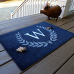 2020 ColorStar - Laurel Run Monogram - Indoor/Outdoor Doormat