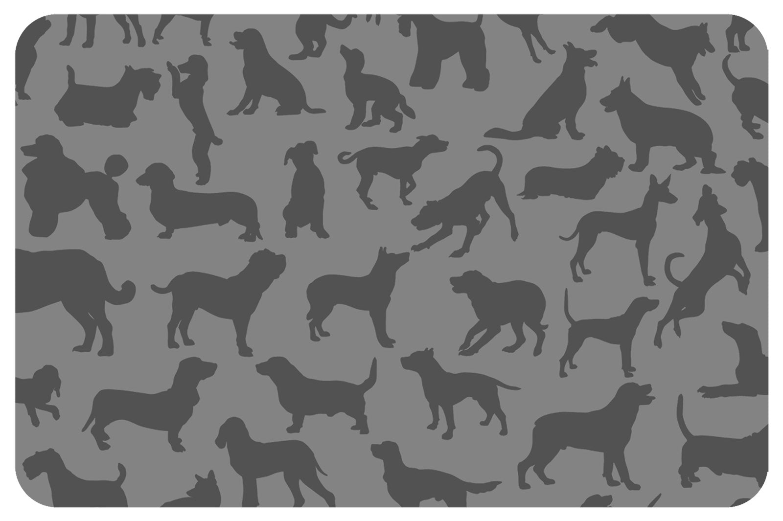 "Wholesale (2 Units) Dogs at Play 18""x27"" Accent Mats"
