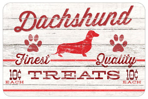 "Red & White Dog Treat 18""x27"" Accent Mats"