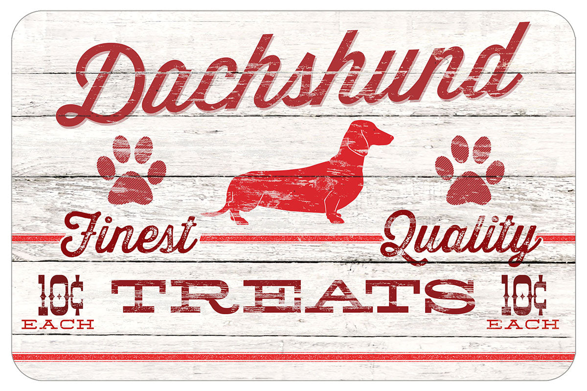 "Wholesale (2 Units) Red & White Dog Treat 18""x27"" Accent Mats"