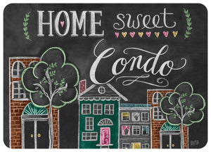 "Wholesale- (2 units) Premium Comfort Home Sweet Condo 22""x31"" Mat by Lily & Val"