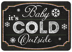 "Wholesale- (2 units) Premium Comfort Blackboard Cold Outside 22""x31"" Mat"