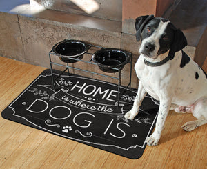 "Home Dog 23""x36"" Accent Mat"