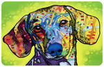 "Wholesale- (2 units) Dachshund 23""x36"" Accent Mat by Dean Russo"