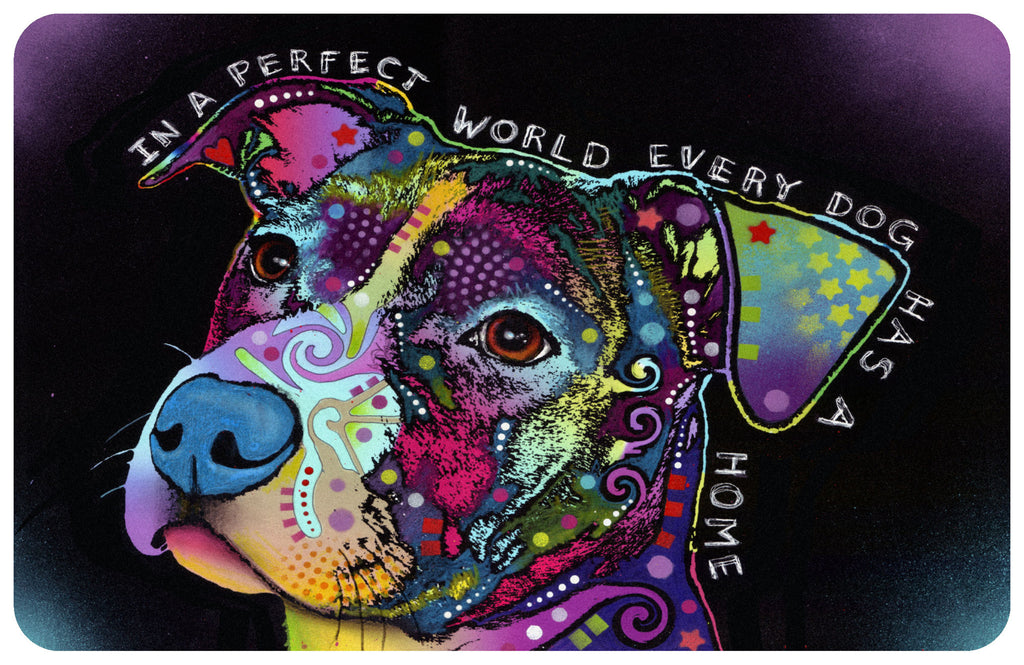 "Wholesale- (2 units) Perfect World 23""x36"" Accent Mat by Dean Russo"