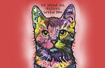 "Wholesale- (2 units) Nine Lives 23""x36"" Accent Mat by Dean Russo"