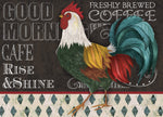 "Wholesale- (2 units) Premium Comfort Blackboard Rooster 22""x31"" Mat by Fiona Stokes Gilbert"
