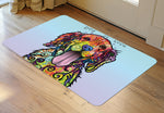 "Wholesale- (2 units) Dog is Love 23""x36"" Accent Mat by Dean Russo"