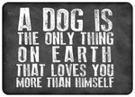 "Dog Love 23""x36"" Accent Mat by Erin Clark"