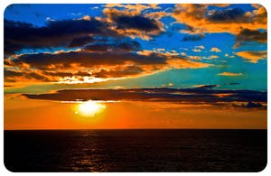 Wholesale- (2 units) Sunset Blues FoFlor Accent Mat