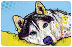 "Husky 23""x36"" Accent Mat by Dean Russo"