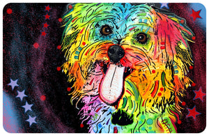 "Wholesale- (2 units) Maltese 23""x36"" Accent Mat by Dean Russo"