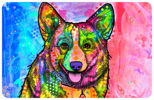 "Wholesale- (2 units) Corgi 23""x36"" Accent Mat by Dean Russo"