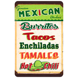 Mexican Sign Board Accent Mats