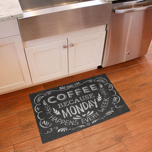 FlorArt Kitchen Chalk Accent Mat