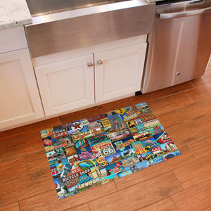 Wholesale (2 Units) FlorArt Roadside America Accent Mat
