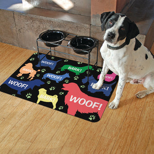 "Doggie Bag 18""x27"" Accent Mats"