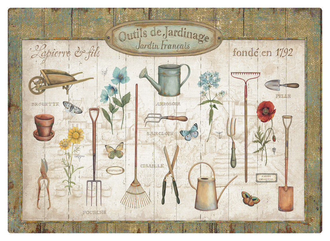 "Wholesale- (2 units) Premium Comfort Royal Garden 22""x31"" Mat by Daphne Brissonnet"