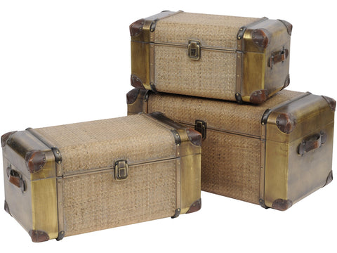 Bamboo Rattan Trunks - Global Trading
