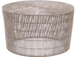 Fusion Wire Web Round Coffee Table - Global Trading