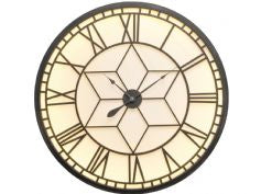 Oversized Backlit Wall Clock - Global Trading